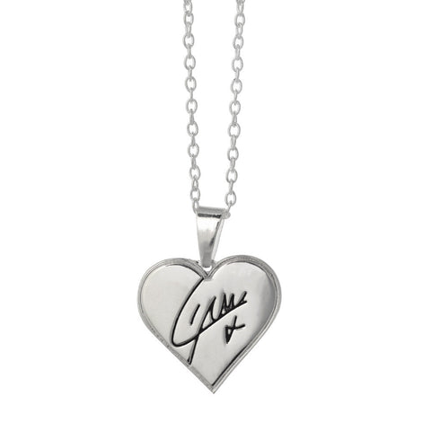 One Direction Harry Heart Necklace and Earring Set