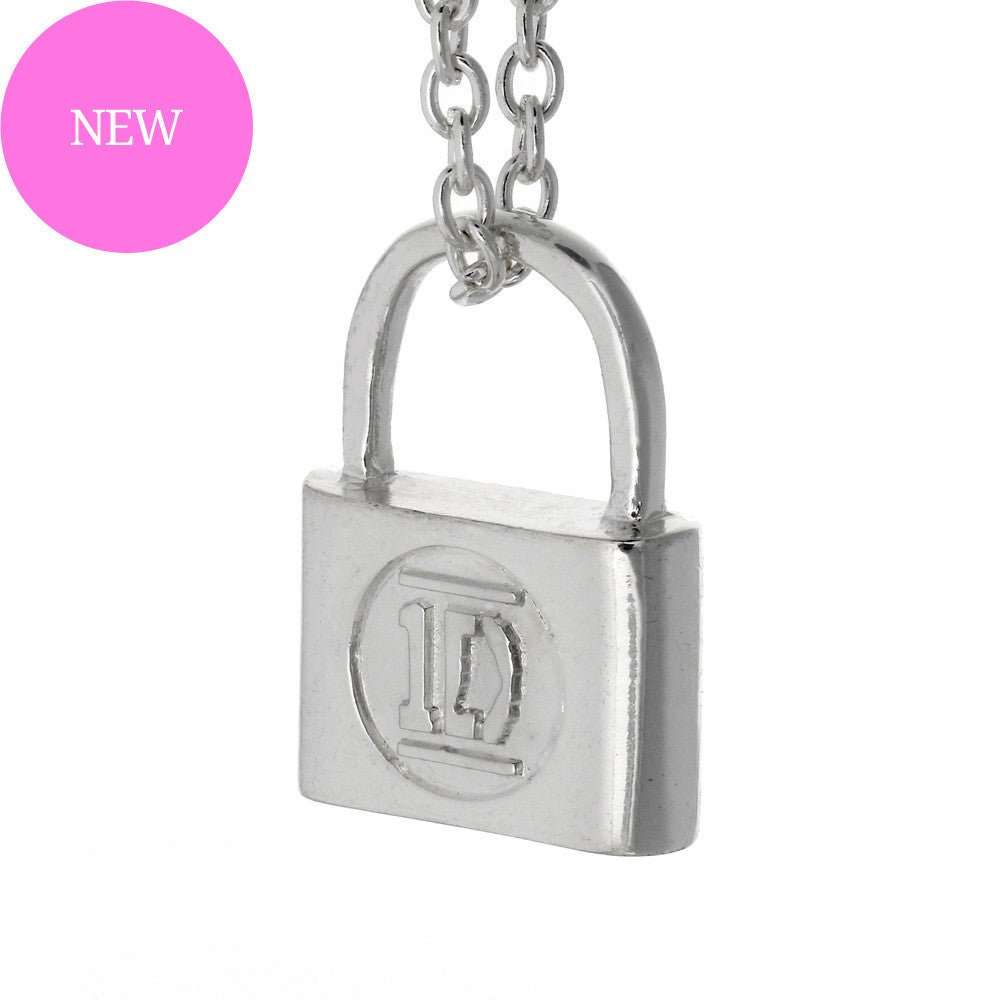 One Direction Padlock Necklace