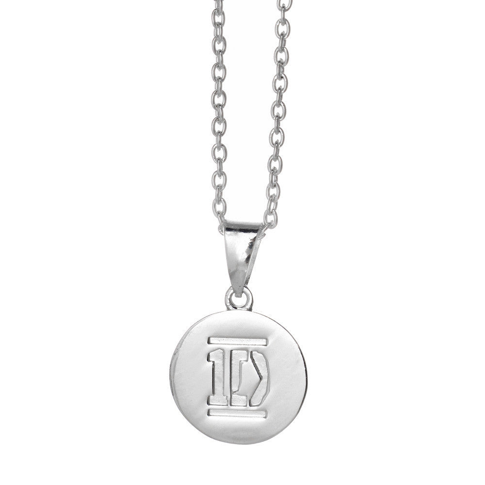 One Direction Niall Logo Disc Necklace