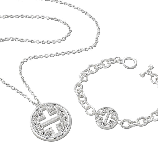 Take That Necklace and Take That Bracelet jewellery set
