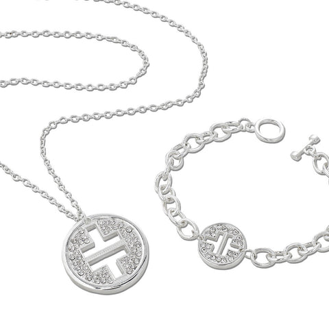 Take That Crystal Logo Bracelet