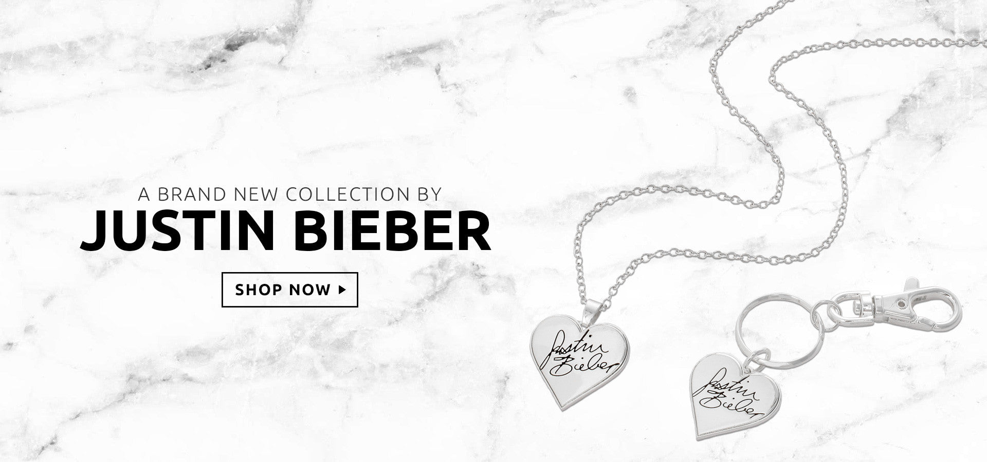 Justin Bieber official jewellery purpose tour merch necklace bracelet