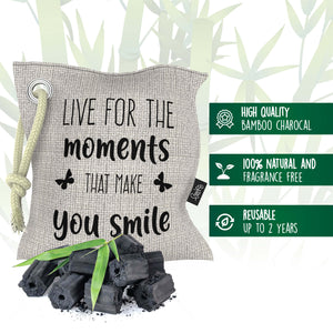Funnky Bamboo Charcoal Air Purifying Bags Inforgraphic 2