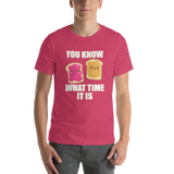 Know What Time It Is - Peanut Butter & Jelly Short-Sleeve Unisex T-Shirt