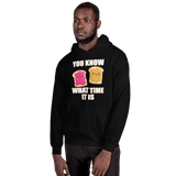 Know What Time It Is - Peanut Butter & Jelly Unisex Hoodie