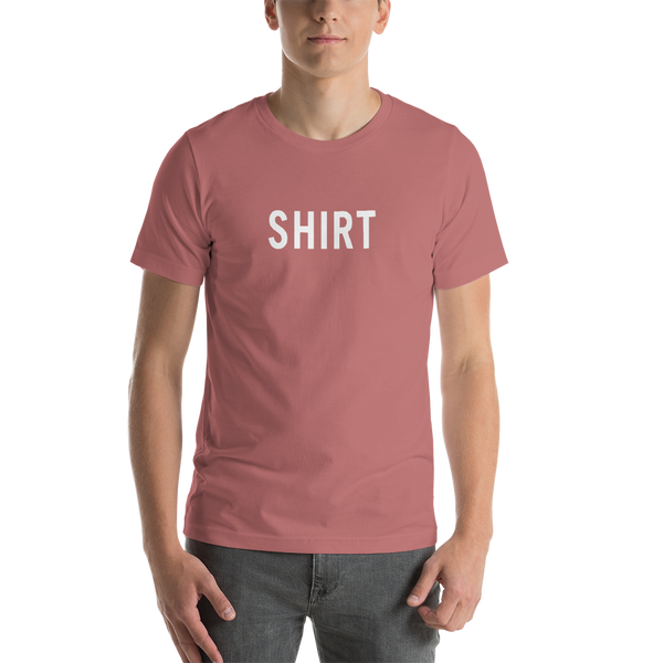 Shirt Short-Sleeve Unisex T-Shirt (Dark Red/Orange/Yellow)