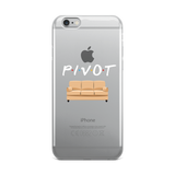 Pivot the Couch iPhone Case (White Lettering)