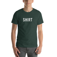 Shirt Short-Sleeve Unisex T-Shirt (Dark Greens)