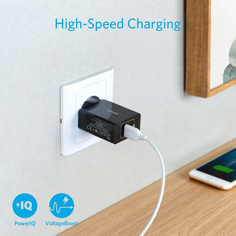 2-Port USB Wall Charger