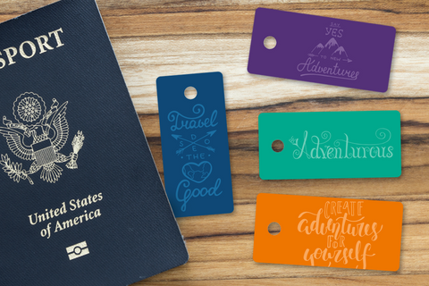 Adventurous Designer Keytags
