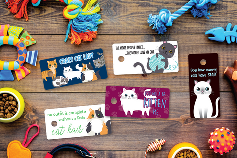 Cat Lover Designer Keytags