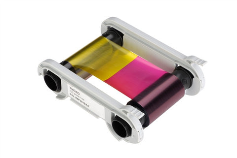 Evolis F003 6-Panel Color Ribbon YMCKO-K