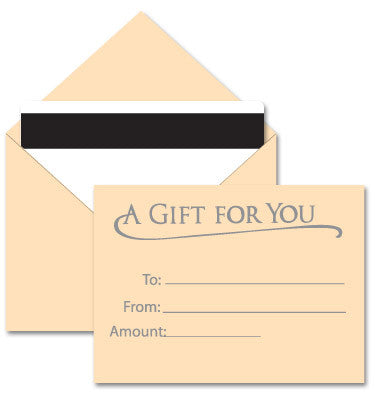 Tan Gift Card Envelope