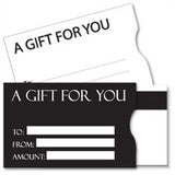 Plastic Gift Card Sleeves