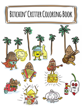 Load image into Gallery viewer, Critter Coloring Book