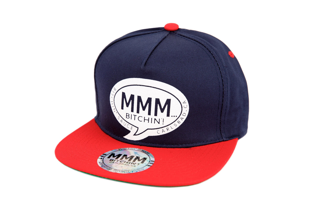 Red & Navy Hat