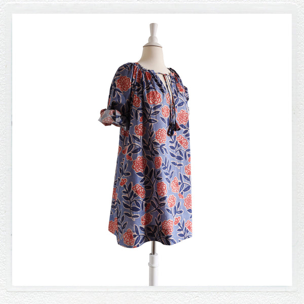 "Dottie MINI Smokk in Liberty London ""Frieze B"" Print"