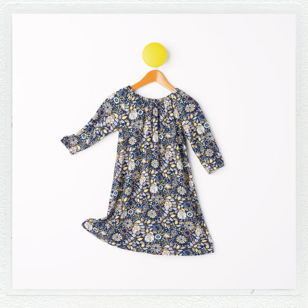 """Laidy"" Dress in Liberty Print Jersey ""Domenic C"""