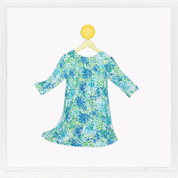 """Laidy"" Dress in Liberty Print Jersey ""Mary Jean"""