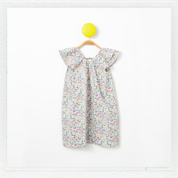 """Lucie""  Dress in Liberty Print ""Betsy"""