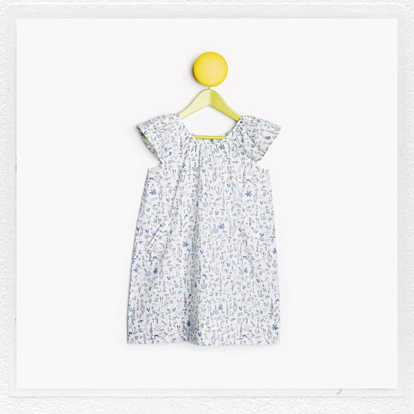 """Lucie""  Dress in Liberty Print ""Theo"""
