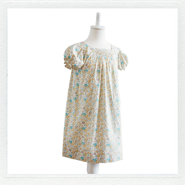 """Sadie"" Dress in Liberty Print ""Clarisse"""