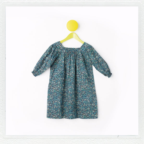 """Winnie"" Dress in Liberty Print ""Eleonora"""