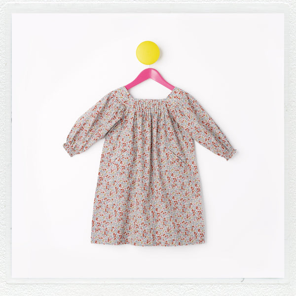 """Winnie"" Dress in Liberty Print ""Emilia's Flowers"""