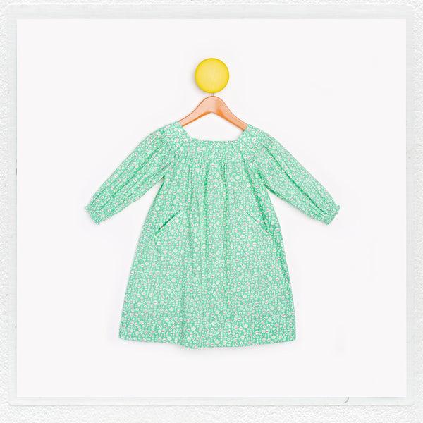 """Winnie"" Dress in Liberty Print ""Suzy Elizabeth"""
