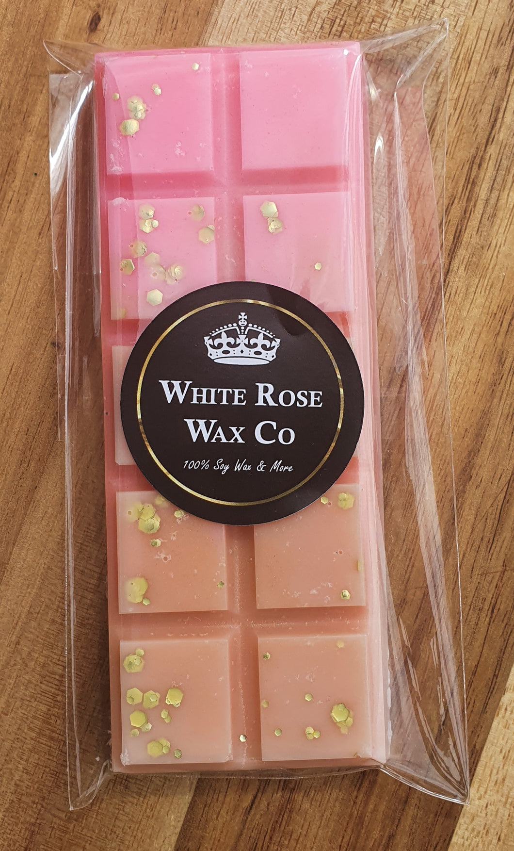 Wax Melt Snap Bar - Strawberry & Rhubarb Pie