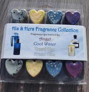 Wax Melt Heart Clam - Perfume & Aftershave Inspired