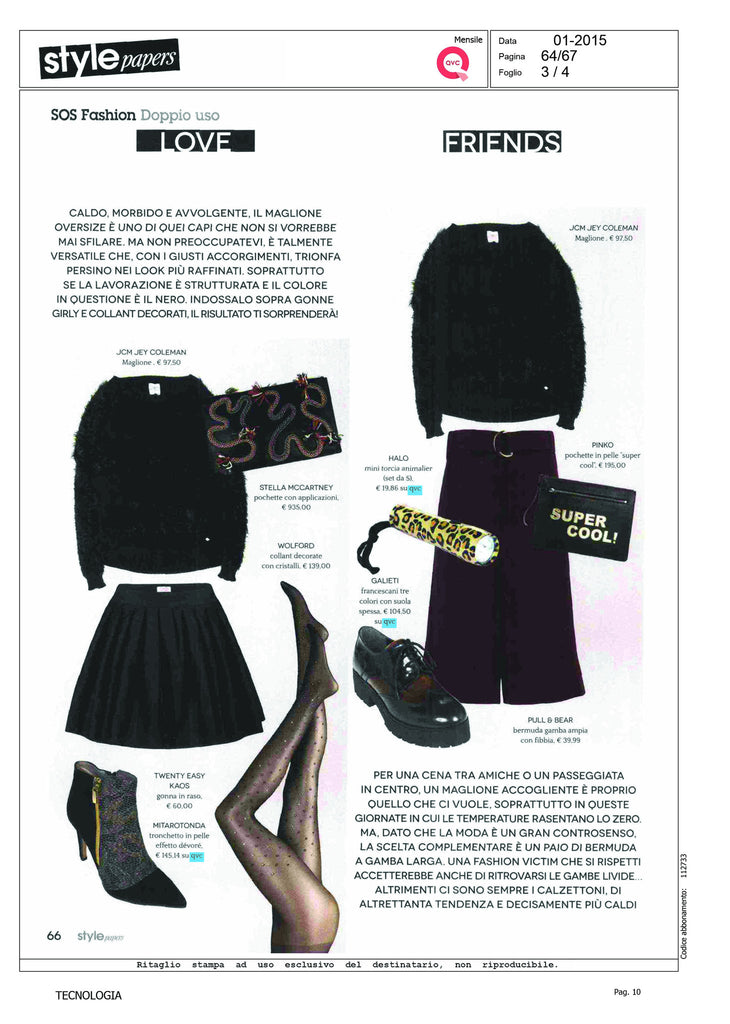 HALO Animal Print Flashlight Featured in Style Magazine
