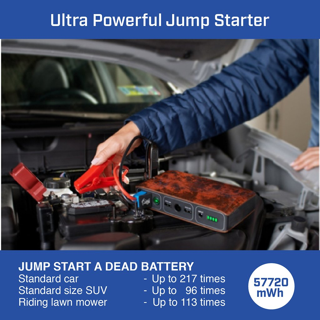 Halo Bolt 57720 Mwh Portable Charger Jump Starter
