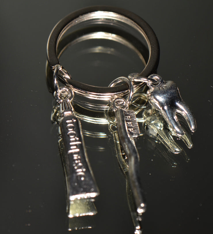 Dental Keychain with Charms