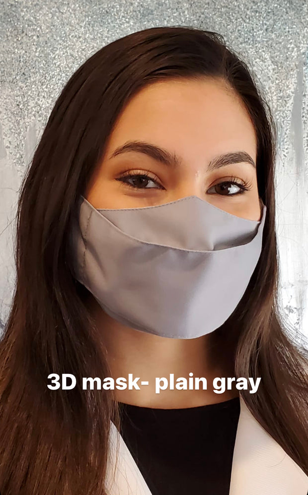 Form Fitting Face Mask