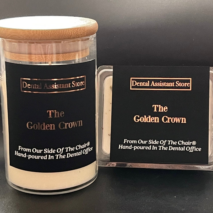 The Golden Crown Candle
