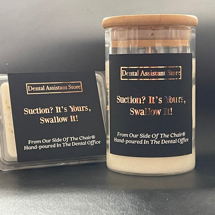 Suction? It Is Yours, Swallow It Candle