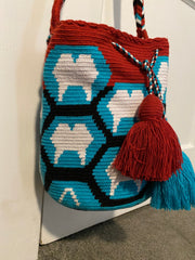 Dental Hobo Bag Red, White and Blue