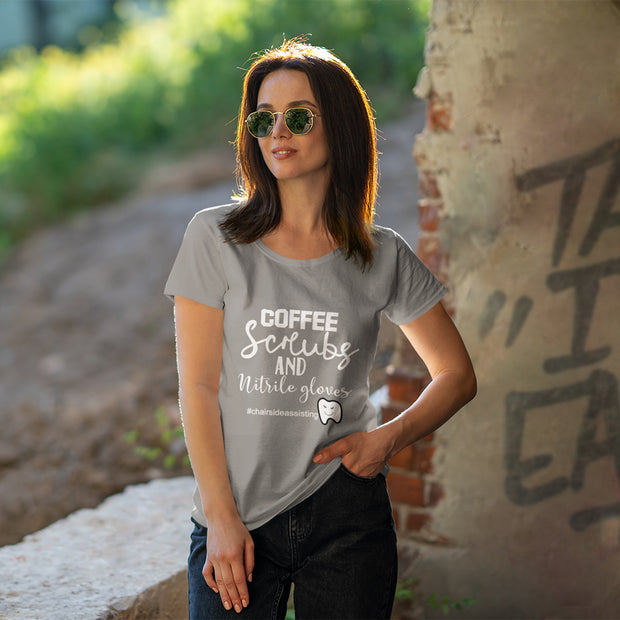 Coffee, Scrubs and Nitrile Gloves T-Shirt