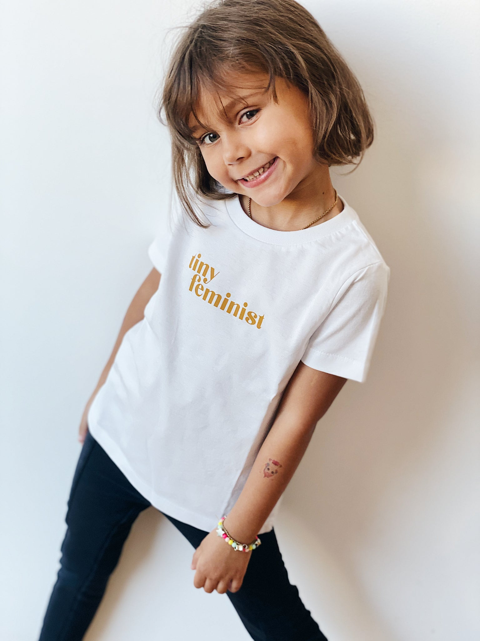 Retro Tiny Feminist T-shirt