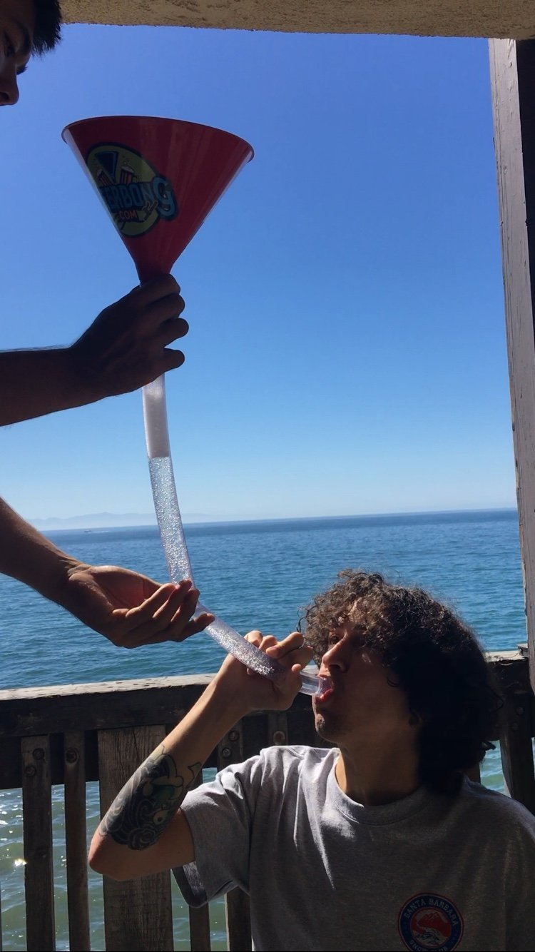A beer bong can make your college party so much more fun