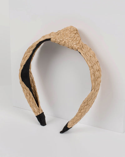 Natural Twisted Headband