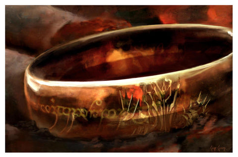 """The One Ring""  ---  Giclee on Paper"