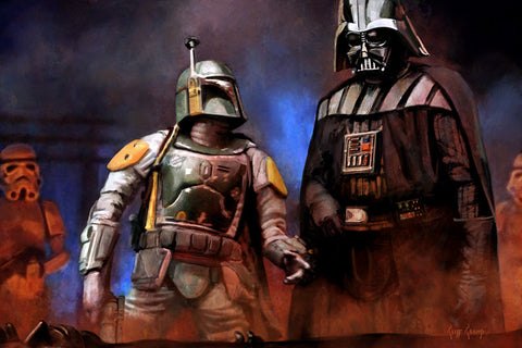 """He's No Good To Me Dead""  -  Giclee on Canvas"