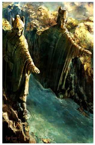 """Argonath""  --- Giclee on Paper"