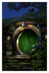 """Bag End""  ---  Giclee on Paper"