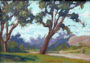 """Laguna Lake"" ---  7"" x 5""  ---  Oil"