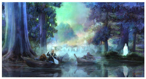 """Leaving Lothlorien""  ---  Giclee on Paper"