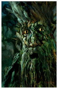 """Many Of These Trees Were My Friends""  ---  Giclee on Paper"