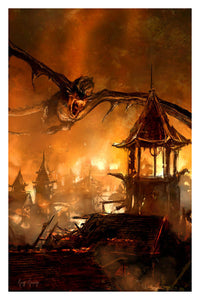 """Smaug""  ---  Giclee on Paper"